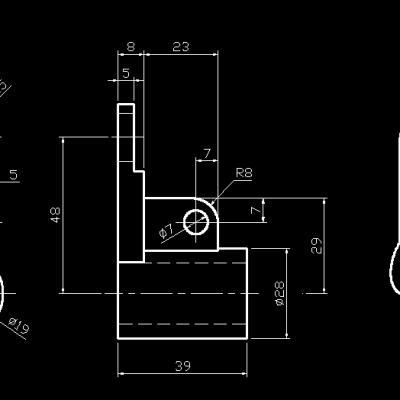 常用机械零件图纸(127个)