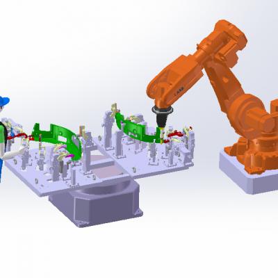 机器人焊接工装夹具系统