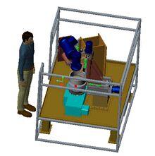 环形工件钻孔倒角专用机床