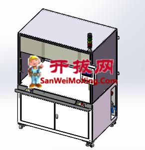 设备箱体总成-模板(参数化驱动,可编辑)