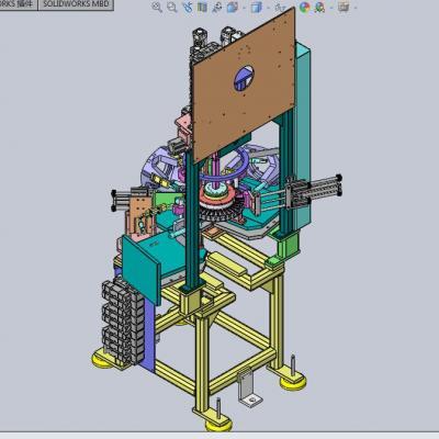 电机定子加紧装置