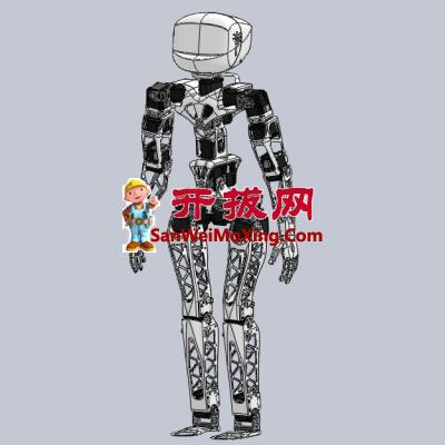 Poppy beta人形智能机器人