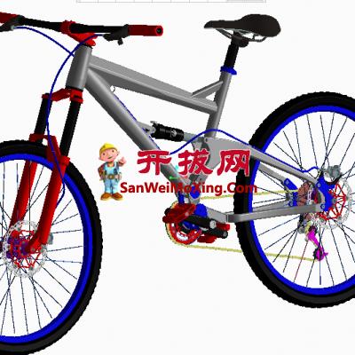 超赞的时尚山地自行车