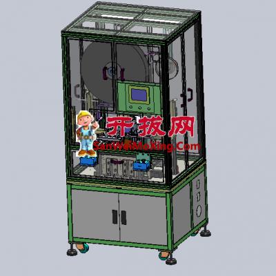 气缸型式的自动汽车连接器插针机
