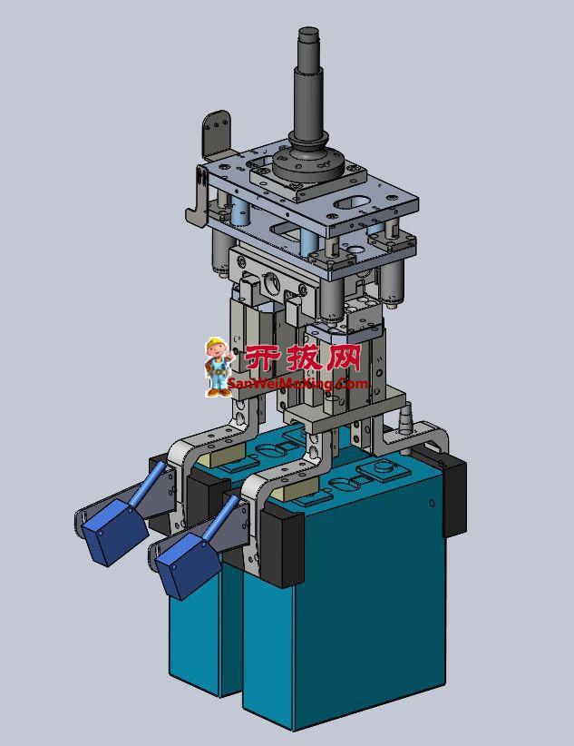 新能源锂电池机器人夹爪