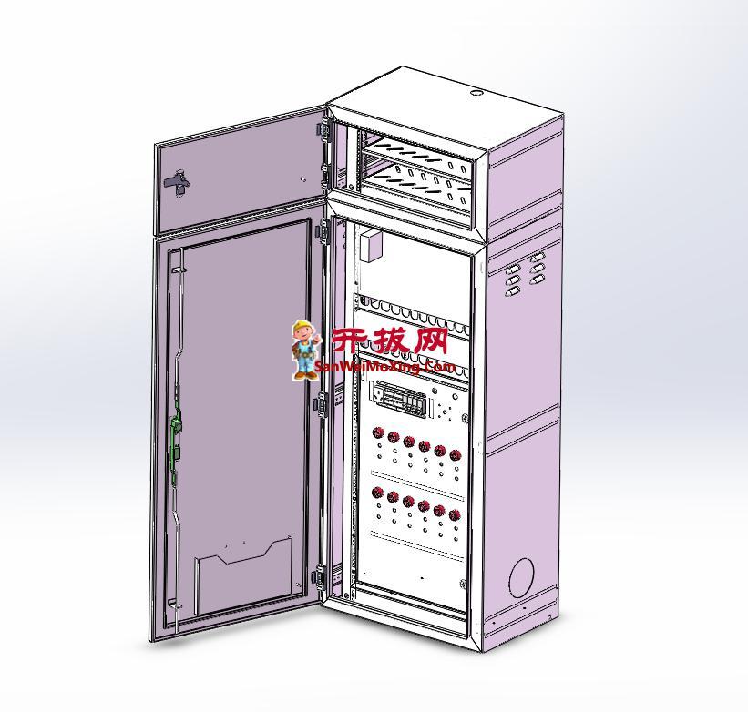 6路DIU控制系统柜