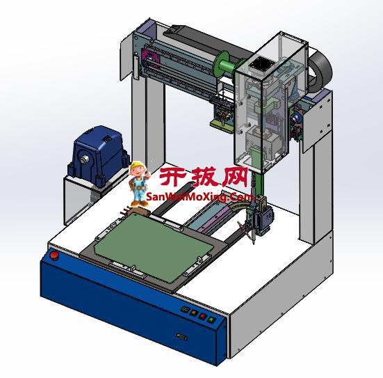 桌面式自动三轴焊锡机