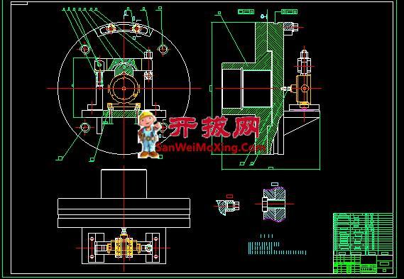 泵体零件的加工工艺夹具设计【加工Φ98孔夹具含CAD图纸