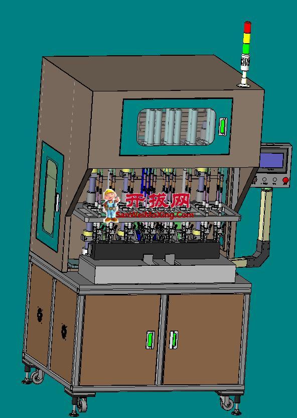 自动化通用多轴螺丝机