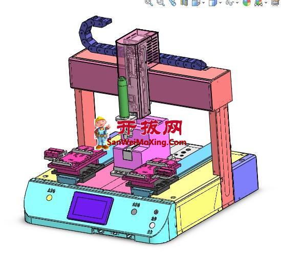 桌面式自动锁螺丝机
