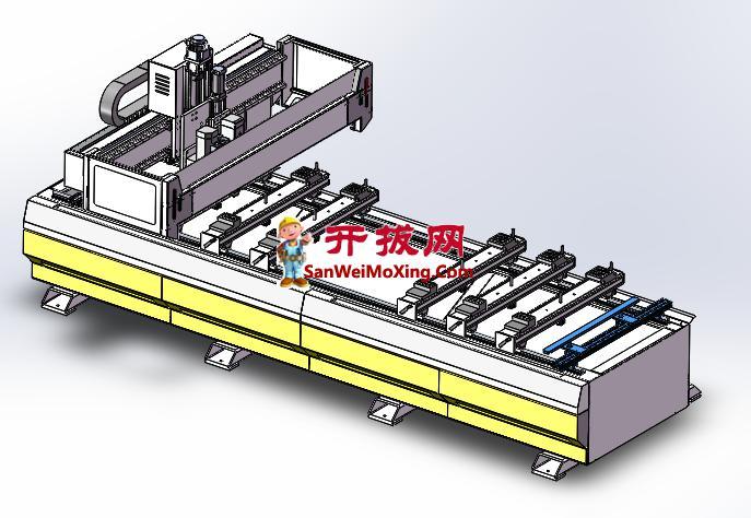 KZD-PTP数控排钻加工设备