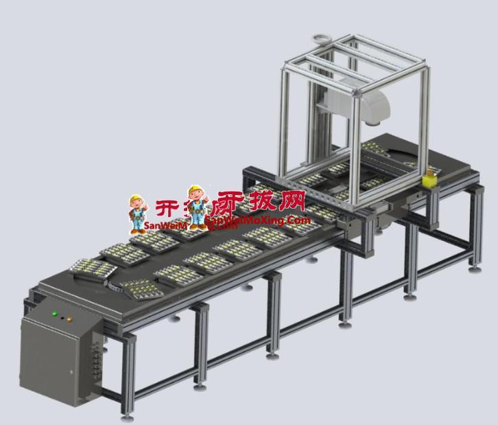 工业印刷系统模型