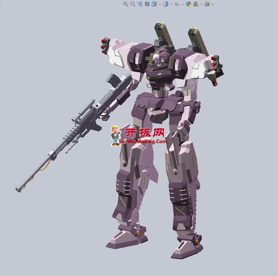 未来战斗机器人3