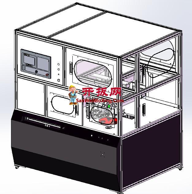 圆柱电池串联自动切折镍片点焊机
