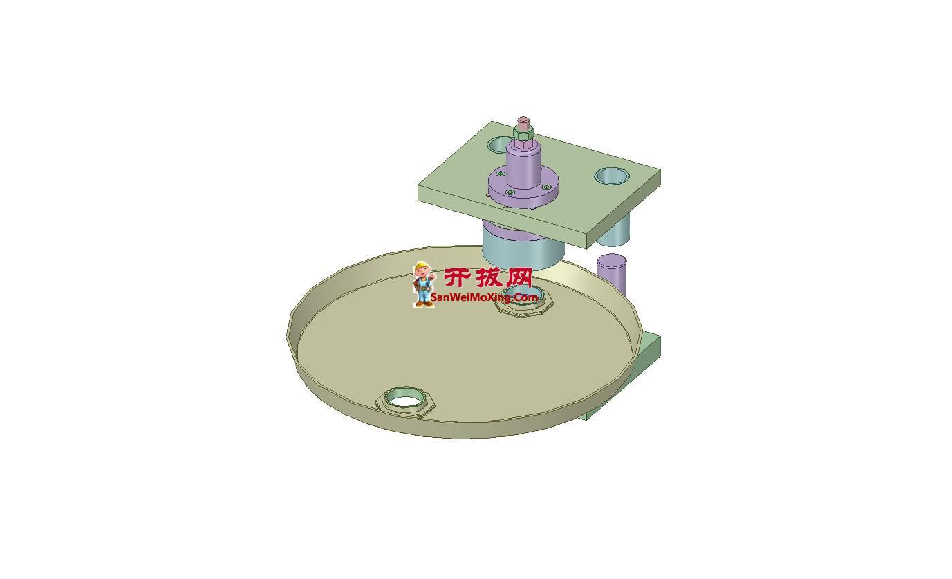 油桶压铆冲压模具