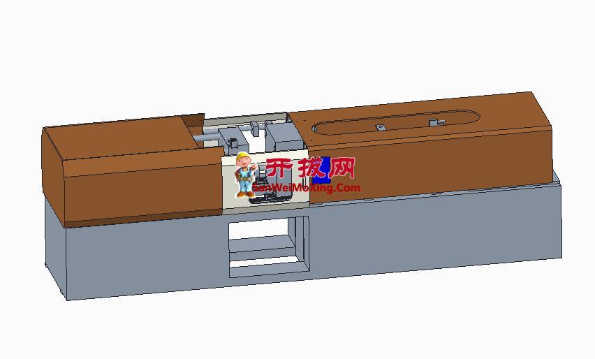 250吨成型机图档
