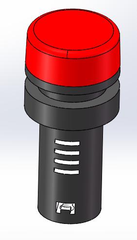 红色指示灯