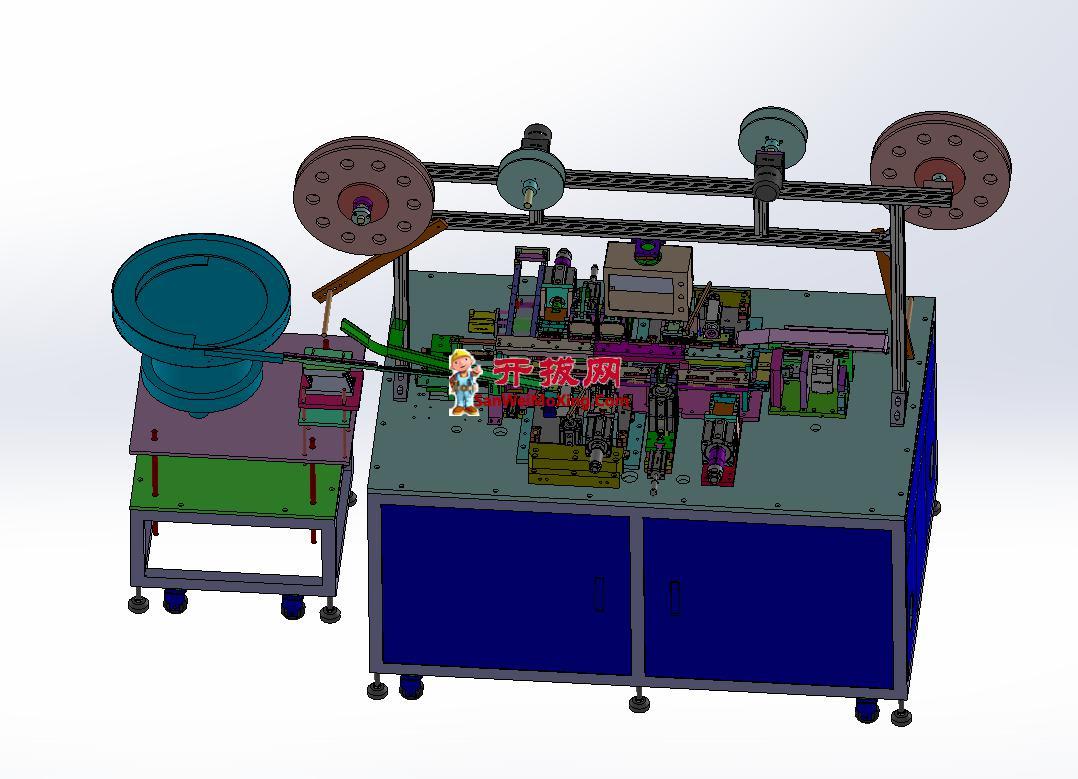 上下四排端子连接器自动机(量产机器+生产BOM)