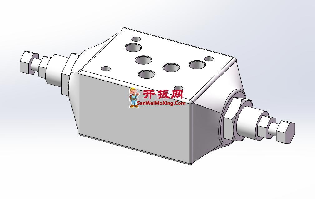 WKQ-012叠加单向节流阀