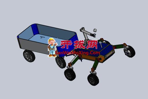 水果采摘实验机器人车
