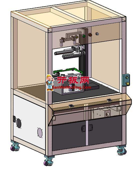 已产电脑视觉检测机项目(含DFM,BOM)