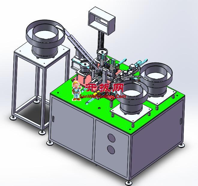 全自动双头螺丝刀组装机