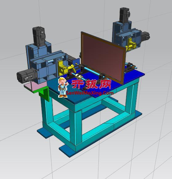 圆柱对接焊接专机设计
