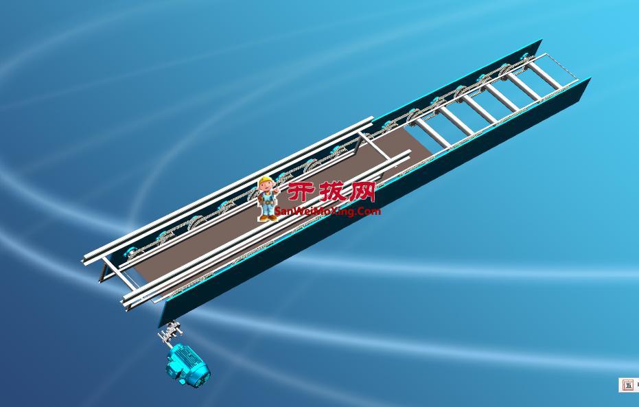 重型负载链条输送设备设计